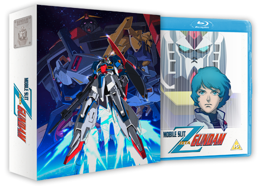 Mobile Suit Zeta Gundam - Edition Collector Part 1/2 Blu-Ray