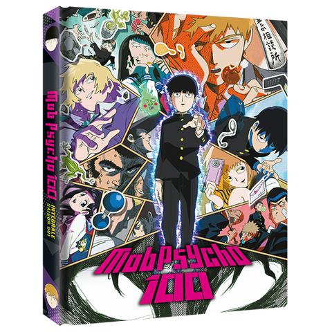 Mob Psycho 100 - Edition Collector Intégrale Saison 1 Blu-Ray