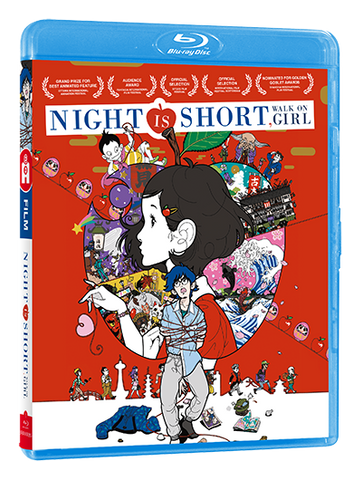 Night is Short, Walk on Girl - Edition Blu-Ray