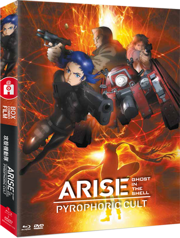 Ghost in the Shell ARISE Pyrophoric Cult - combo Bluray/DVD