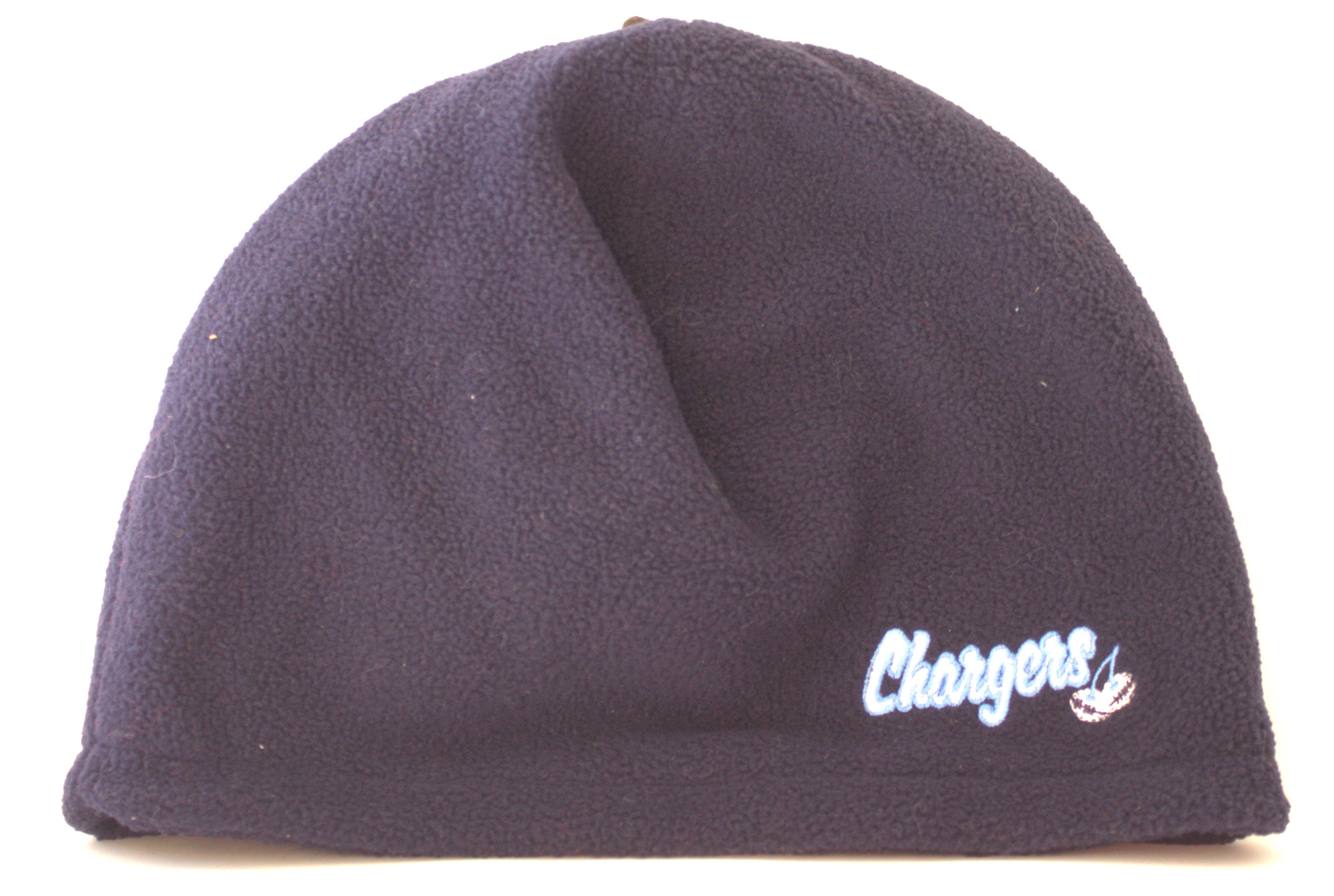 f6895a366d7 NFL Licensed San Diego Chargers Navy Cherry Fleece Beanie ...