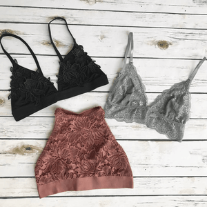 Current Top Bralette Favorites