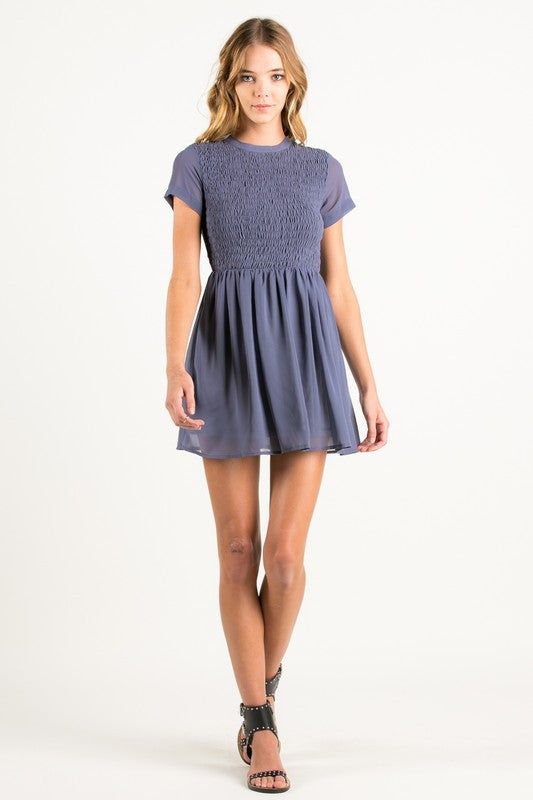 In It To Win It Mini Dress - Lilac