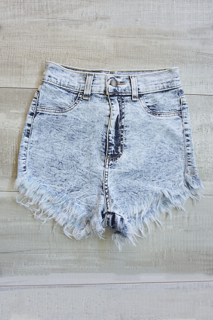 Americana High Waisted Shorts