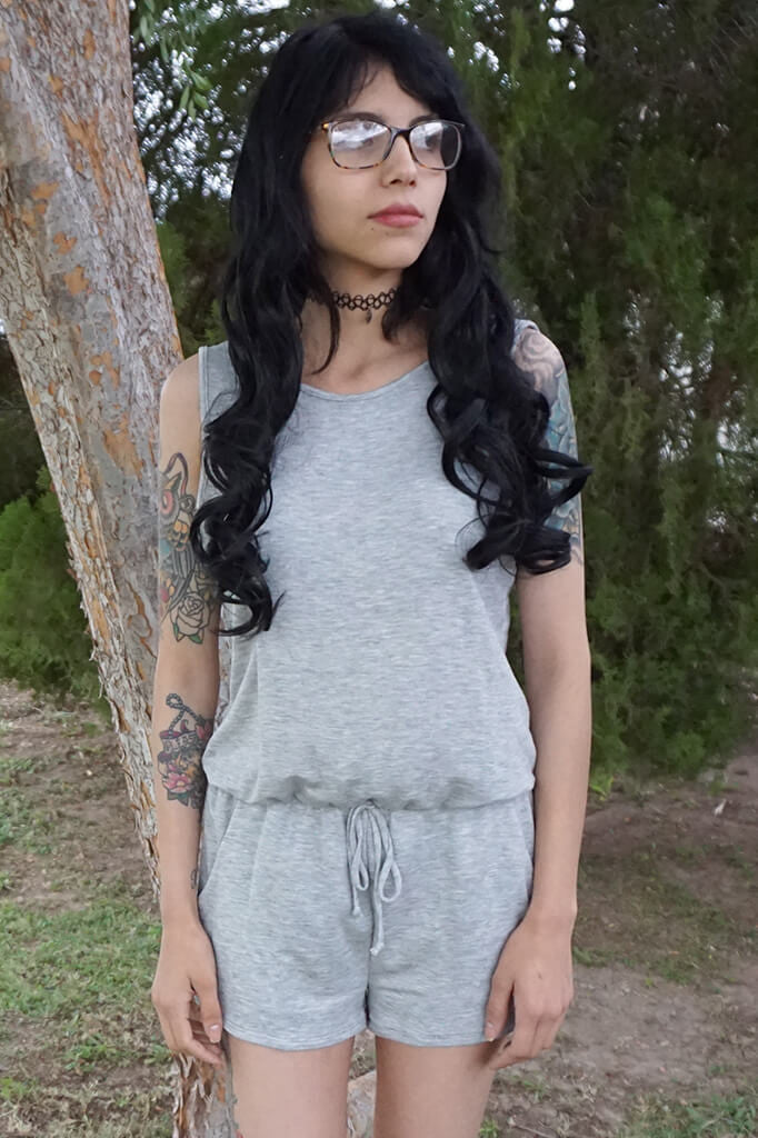 Arise Romper - Heather Gray