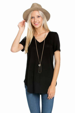 Leila Loose Shirt - Black
