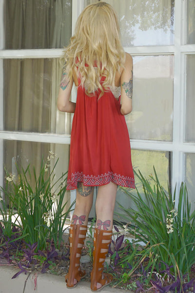 Desert Dream Dress - Rust