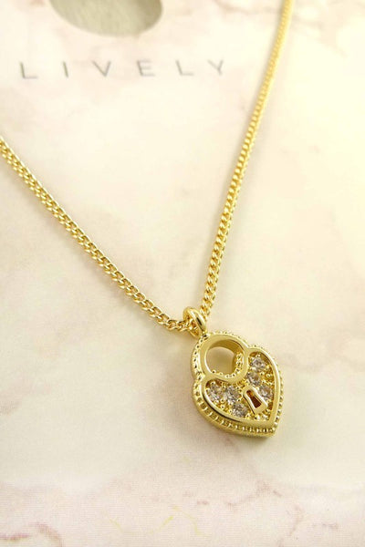 Ally Heart Locket Necklace