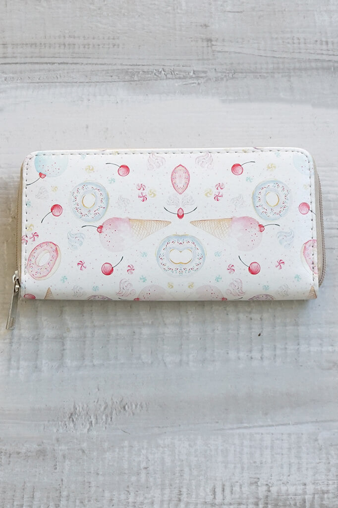 Ice Cream Donut Wallet