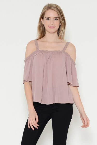 Wayward Off The Shoulder Top - White