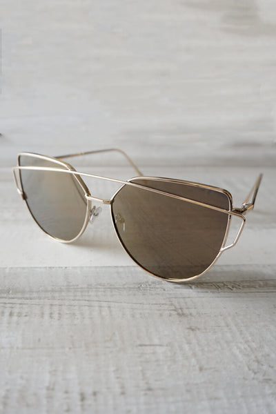Wildling Reflective Sunglasses - Gold