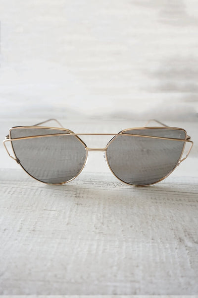 Wildling Reflective Sunglasses - Silver