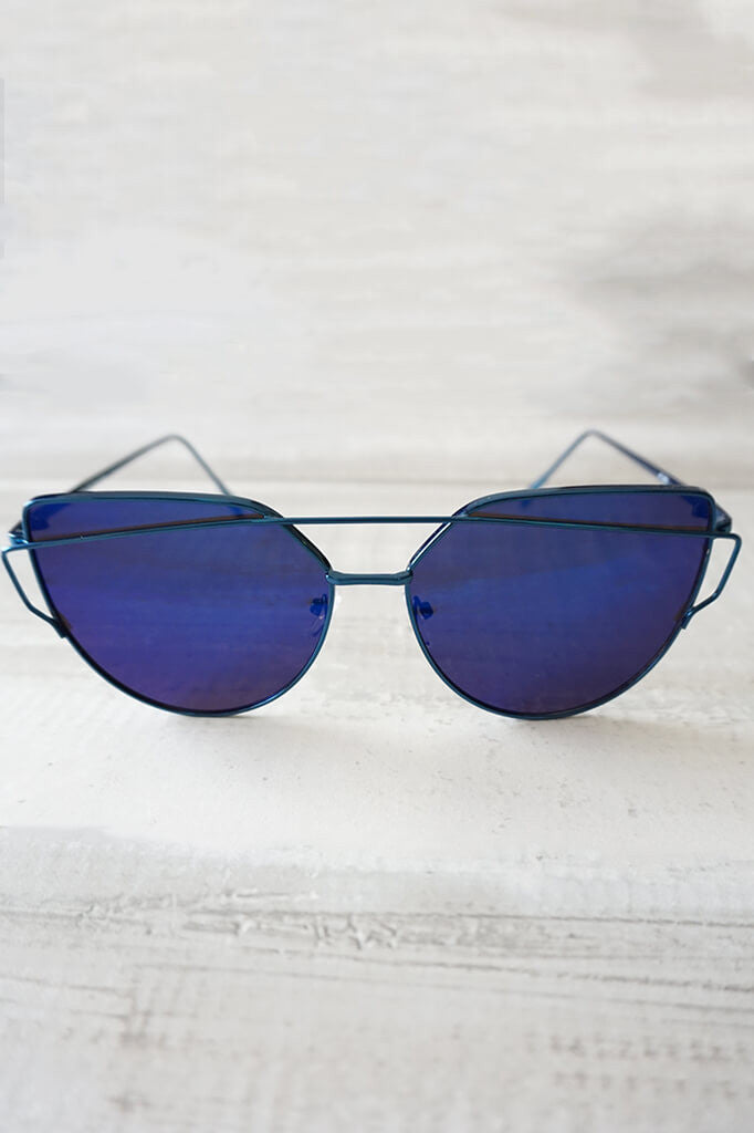 Wildling Reflective Sunglasses - Blue