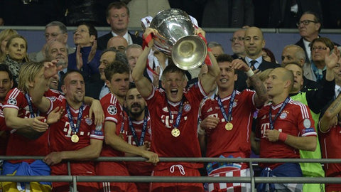 The Champions League winners in 2013