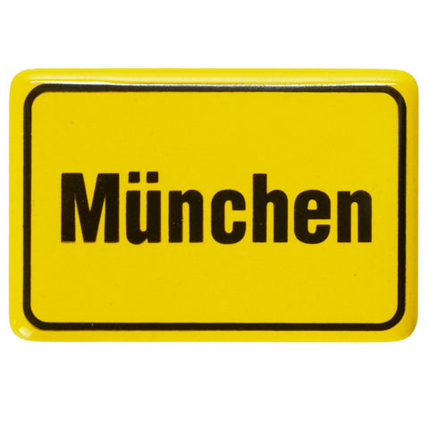 Munchen City Sign Magnet 2.5