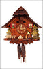 Black Forest 1 day Cuckoo Clock with Woodchopper and Gongs