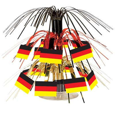 German Flag Mini Cascade Centerpiece Party Accessory