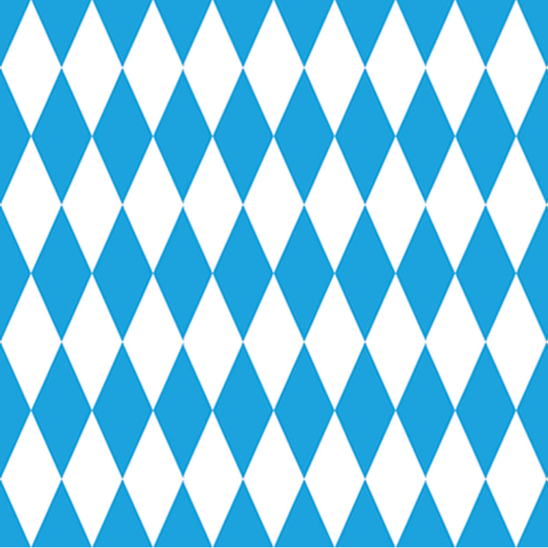 Large Blue and White Oktoberfest Backdrop 4' x 30' - 4-Feet by 30-Feet, Hanging Decorations, Oktoberfest, PS- Oktoberfest Decorations, PS- Oktoberfest Essentials-All OKT Items, PS- Oktoberfest Hanging Decor, PS- Oktoberfest Table Decor, Tableware