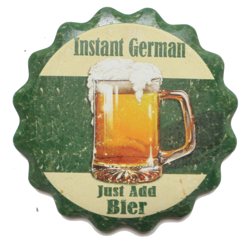 inchesInstant German. Just Add Bier inches Oktoberfest Coaster - Beer, Coasters, German, New Products, NP Upload, SY:, SY: Instant German, Top-GRMN-B, Under $25, Yr-2016