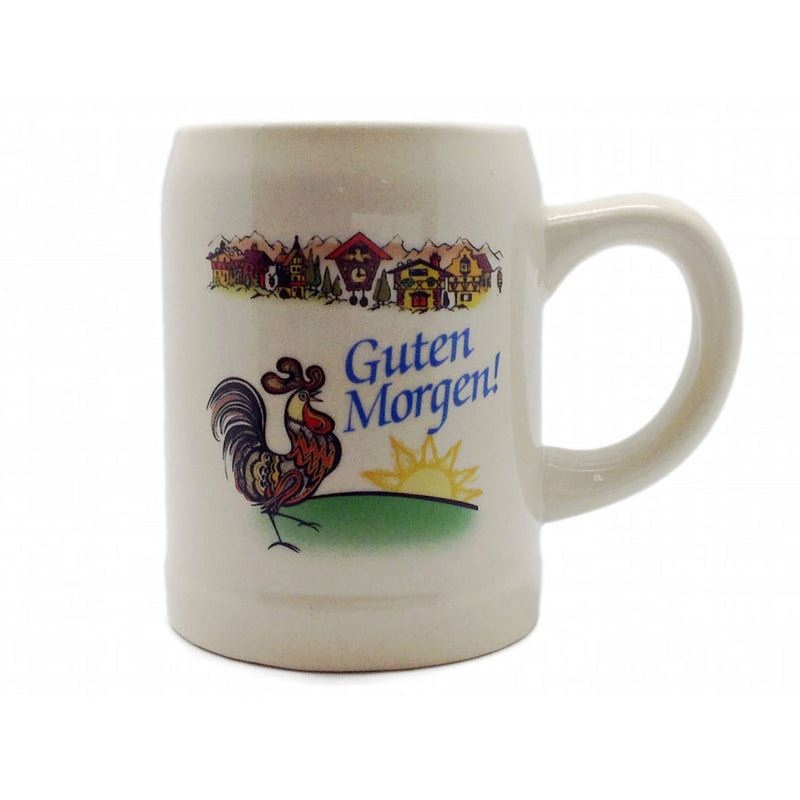 "German Coffee Mug: ""Guten Morgen"""