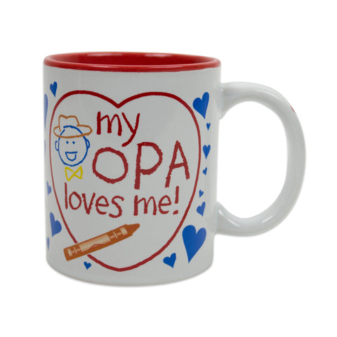 Gift for Opa's Grandchildren Mug