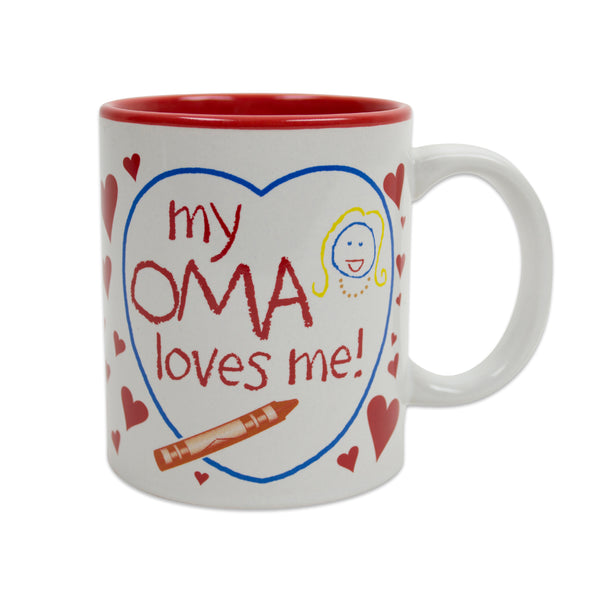 Gift for Oma's Grandchildren Mug