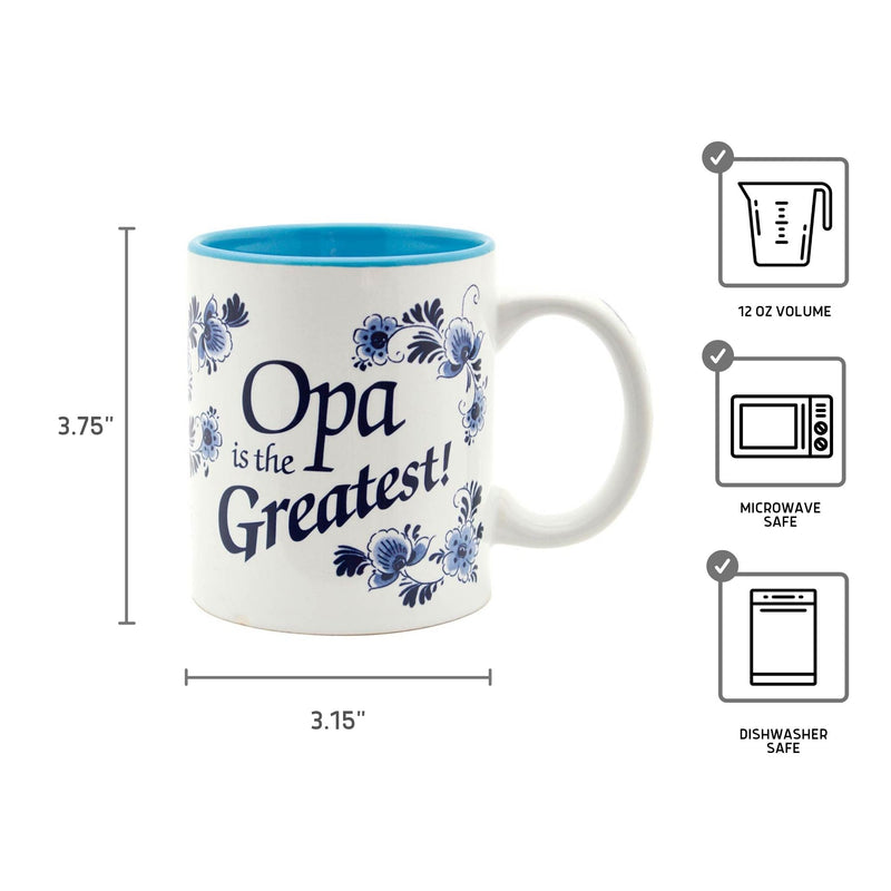 "German Gift Idea Mug ""Opa is the Greatest"""