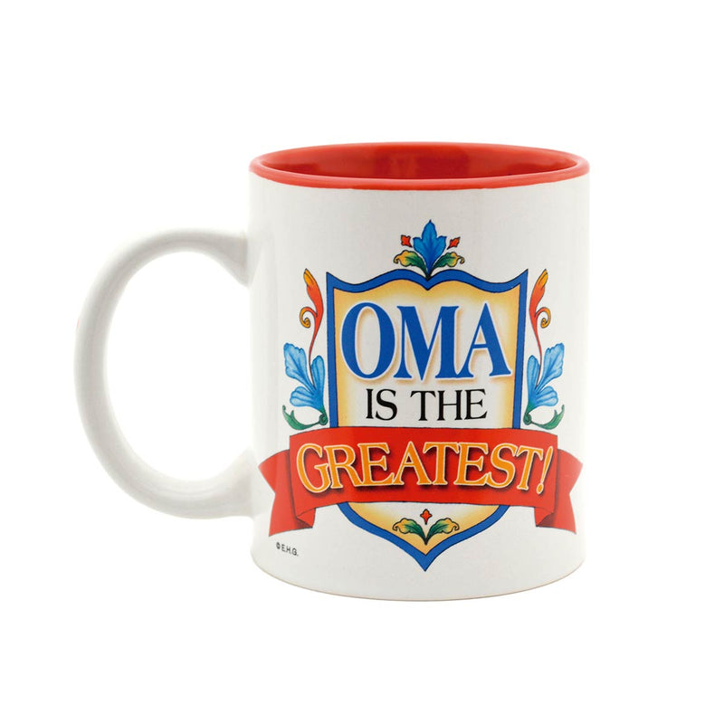 "German Gift Idea Mug ""Oma is the Greatest"""