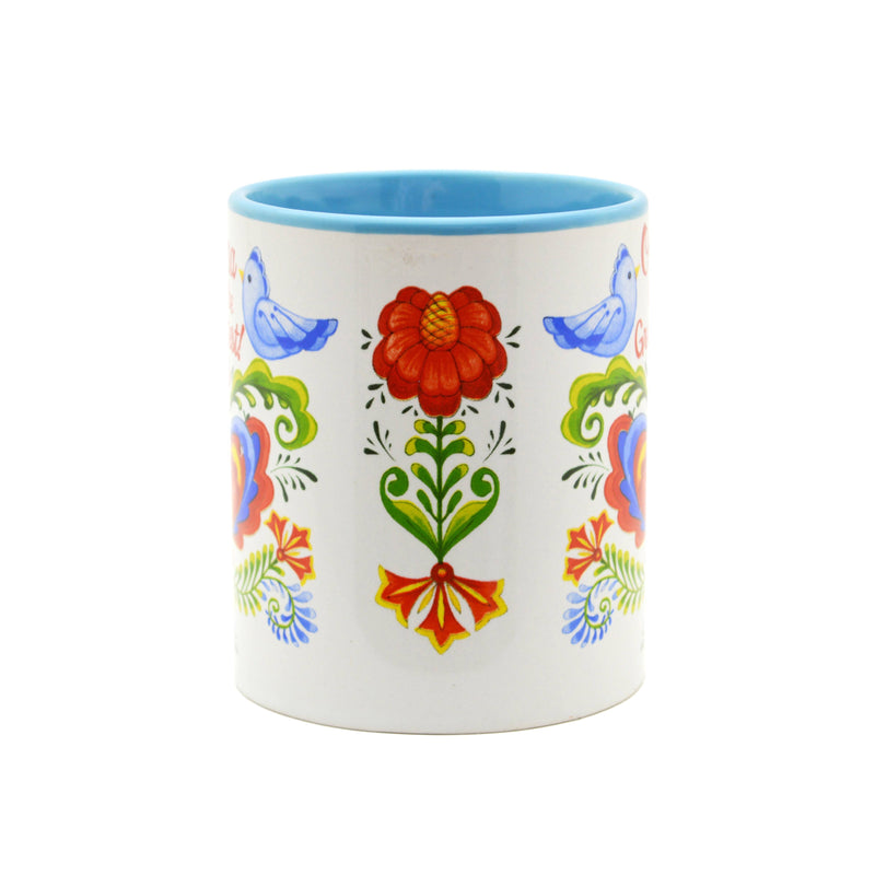 """Oma is the Greatest"" Bird Design Ceramic Coffee Mug - 3 - GermanGiftOutlet.com"