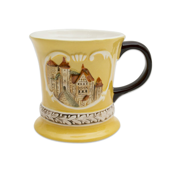 Embossed Rothenburg Ceramic Mug