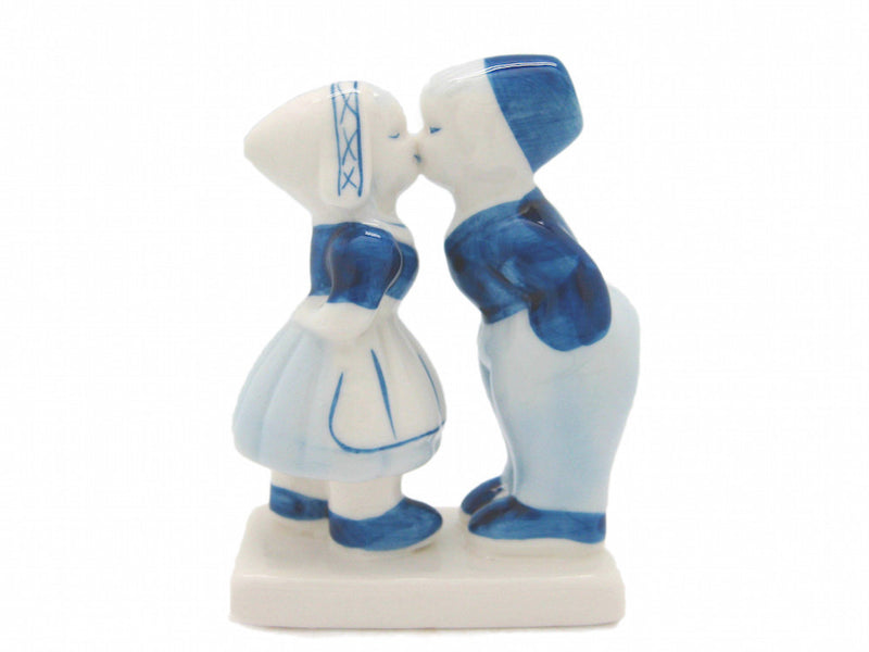 Delft Blue Kissing Figurine Couple - Collectibles, Decorations, Delft Blue, Dutch, Figurines, Home & Garden, Kissing Couple, Kitchen Decorations, L, Medium, PS-Party Favors, PS-Party Favors Dutch, S&P Sets, Size, Small, Top-DTCH-B, XL - 2 - 3 - 4