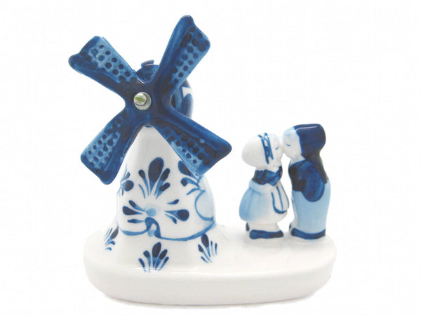 Windmill & Delft Kissing Couple 3