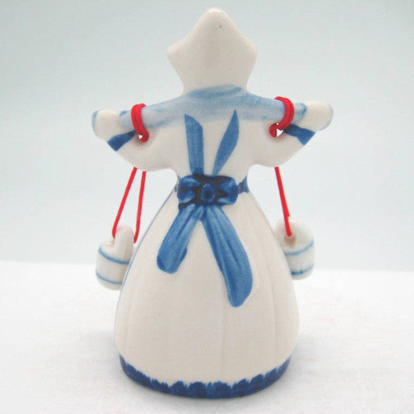 Blue & White Dutch Milkmaid - Collectibles, Decorations, Delft Blue, Dutch, Figurines, Home & Garden, L, Medium, Milkmaid, PS-Party Favors, PS-Party Favors Dutch, Size, Small, XL, XS - 2