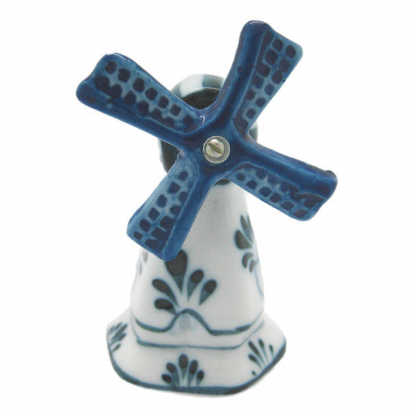 Decorative Blue & White Windmill