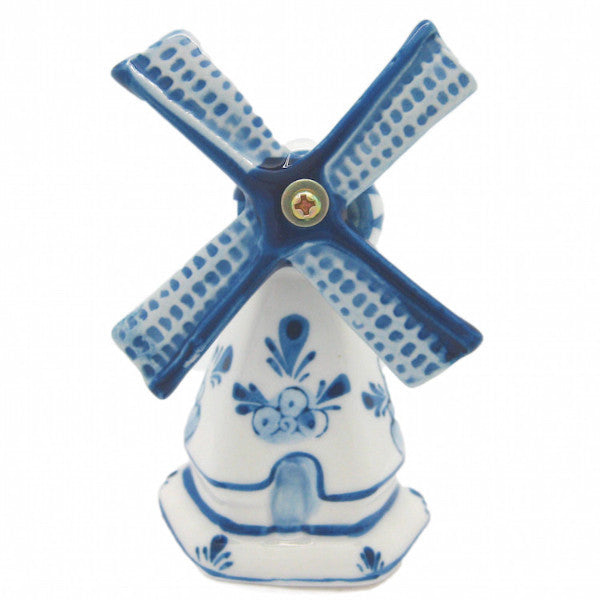 Decorative Blue & White Windmill - 3.25 inches, Collectibles, Decorations, Delft Blue, Dutch, Figurines, Home & Garden, PS-Party Favors, Size, Windmills - 2 - 3 - 4