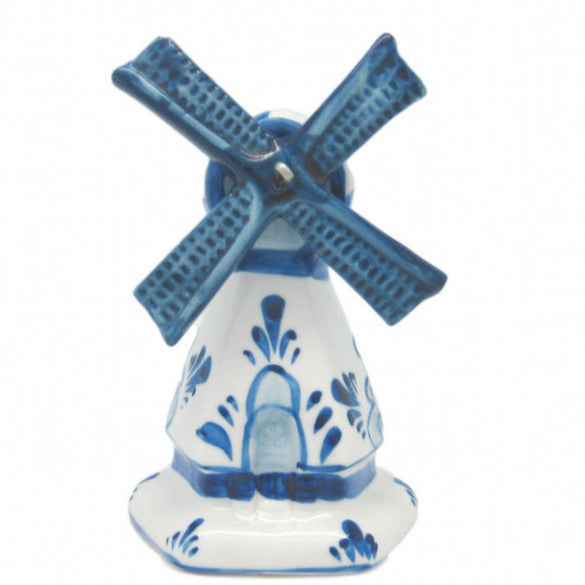 Decorative Blue & White Windmill - 3.25 inches, Collectibles, Decorations, Delft Blue, Dutch, Figurines, Home & Garden, PS-Party Favors, Size, Windmills - 2
