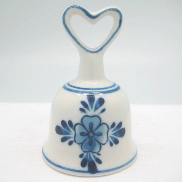 Blue and White Collector Windmill Bell with Heart - Bell, Collectibles, Decorations, Delft Blue, Dutch, Heart, Home & Garden, L, PS-Party Favors, PS-Party Favors Dutch, Size, Small, Top-DTCH-B, Windmills - 2