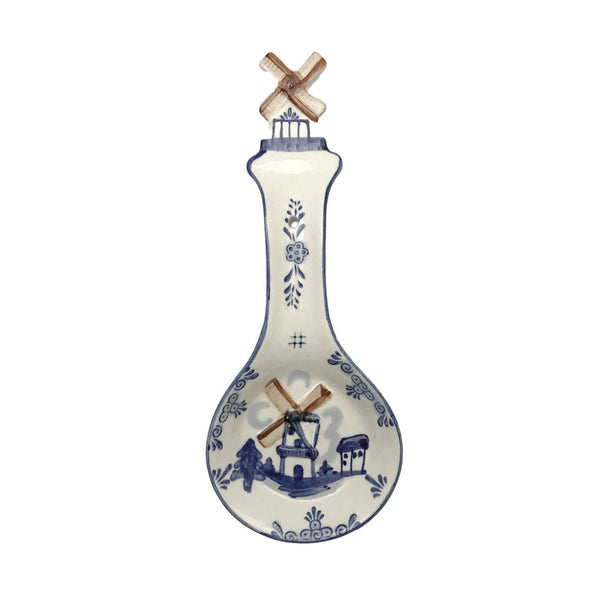 Porcelain Spoon Rests Color Windmill