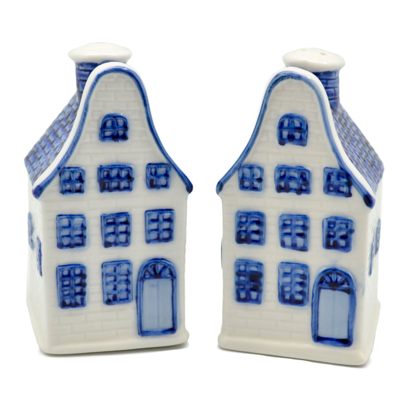 Collectible Pepper and Salt Shakers: Canal Houses