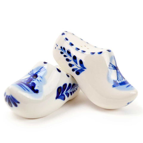 Wooden Shoes Collectible Salt and Pepper Shakers