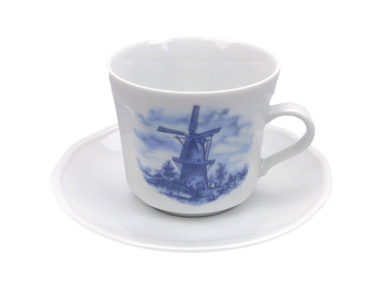 Porcelain Cup and Saucer Sets 2.5 inches - Below $10, Coffee Mugs, Decorations, Drinkware, Dutch, Home & Garden, Kitchen Decorations, S&P Sets, Tableware