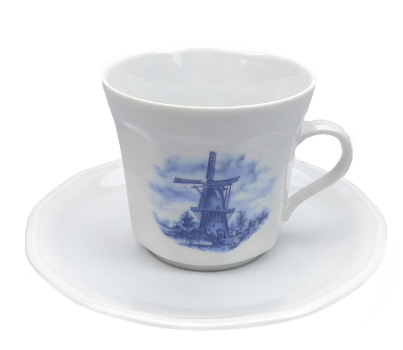 Porcelain Cup and Saucer Sets 3.5 inches - Below $10, Coffee Mugs, Decorations, Drinkware, Dutch, Home & Garden, Kitchen Decorations, S&P Sets, Tableware