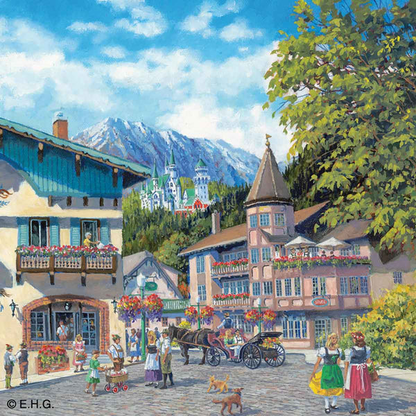 Seasons of Germany Collectors Tile: Summer
