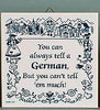 Tell A German: German Gift Idea Tile: