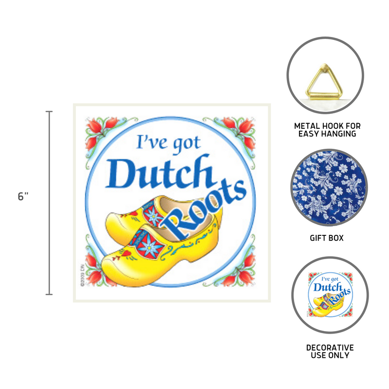 Decorative Wall Plaque Got Dutch Roots
