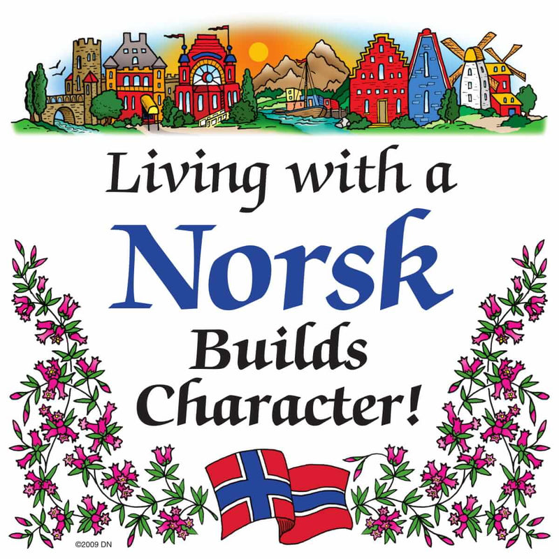 Kitchen Wall Plaques Living With Norsk
