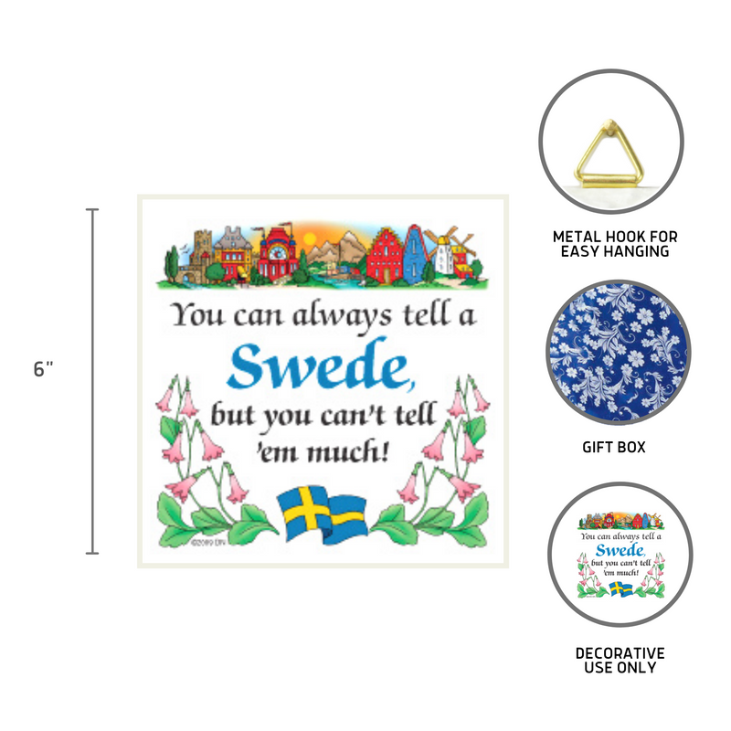 Kitchen Wall Plaques Tell A Swede