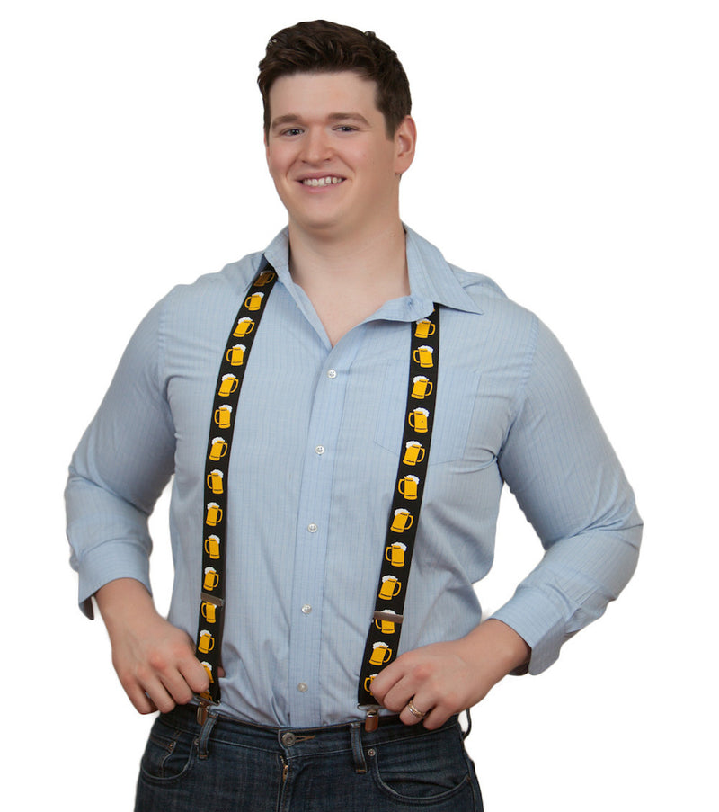 Oktoberfest Costume Suspenders Mugs - Apparel-Costumes, Apparel-Suspenders, German, Germany, Oktoberfest, PS- Oktoberfest Party Favors, PS-Party Favors, PS-Party Supplies, Top-GRMN-B - 2