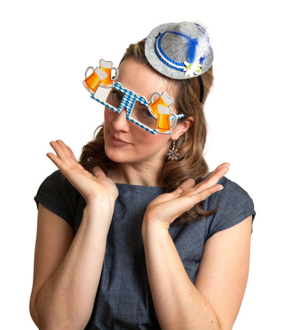 Okotberfest Party Glasses: Bavarian Beer Mugs