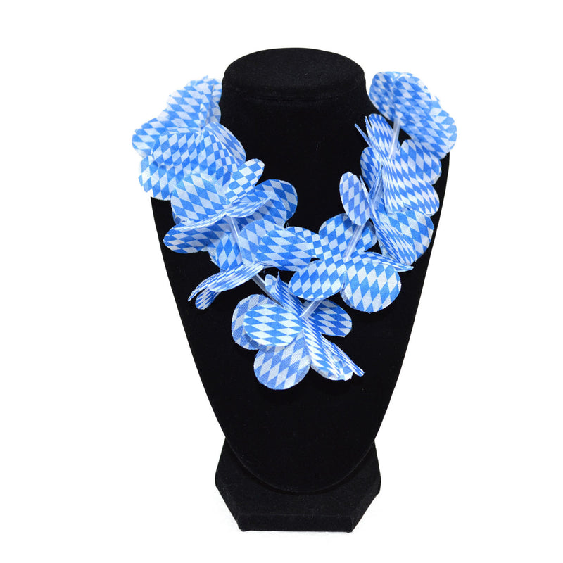 German Oktoberfest Party Lei Bavarian Design - Apparel-Costumes, German, Lanyards, New Products, NP Upload, PS- Oktoberfest Party Favors, Top-GRMN-B, Under $10, Yr-2016 - 2